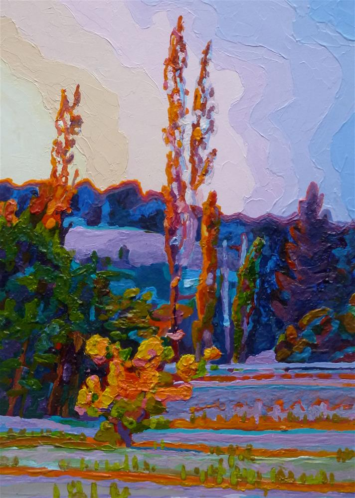 """Sweet September"" original fine art by Mark Allison"