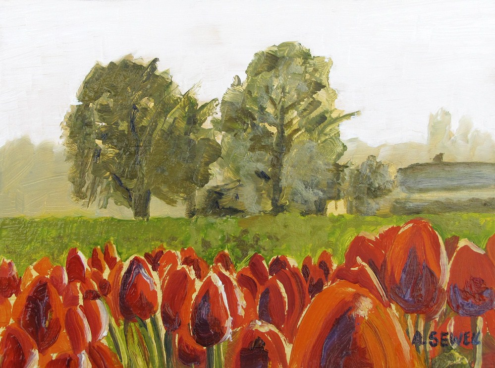 """Tulip Time"" original fine art by Andy Sewell"