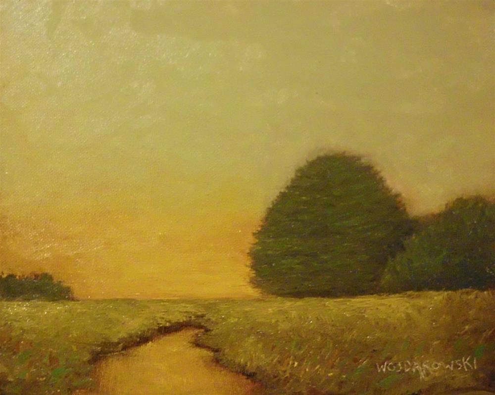 """Early morning sky"" original fine art by Joe Wojdakowski"