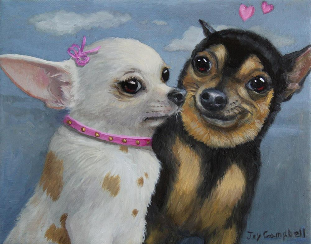 """Love at First Sight"" original fine art by Joy Campbell"