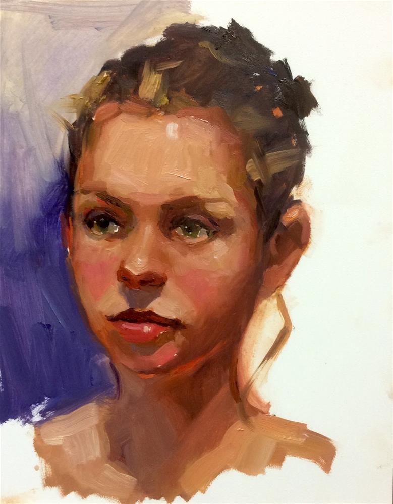 """The Ballerina Princess"" original fine art by Laurie Johnson Lepkowska"
