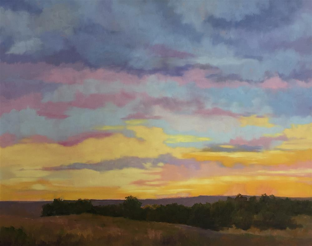 """Early Morning"" original fine art by Pam Holnback"