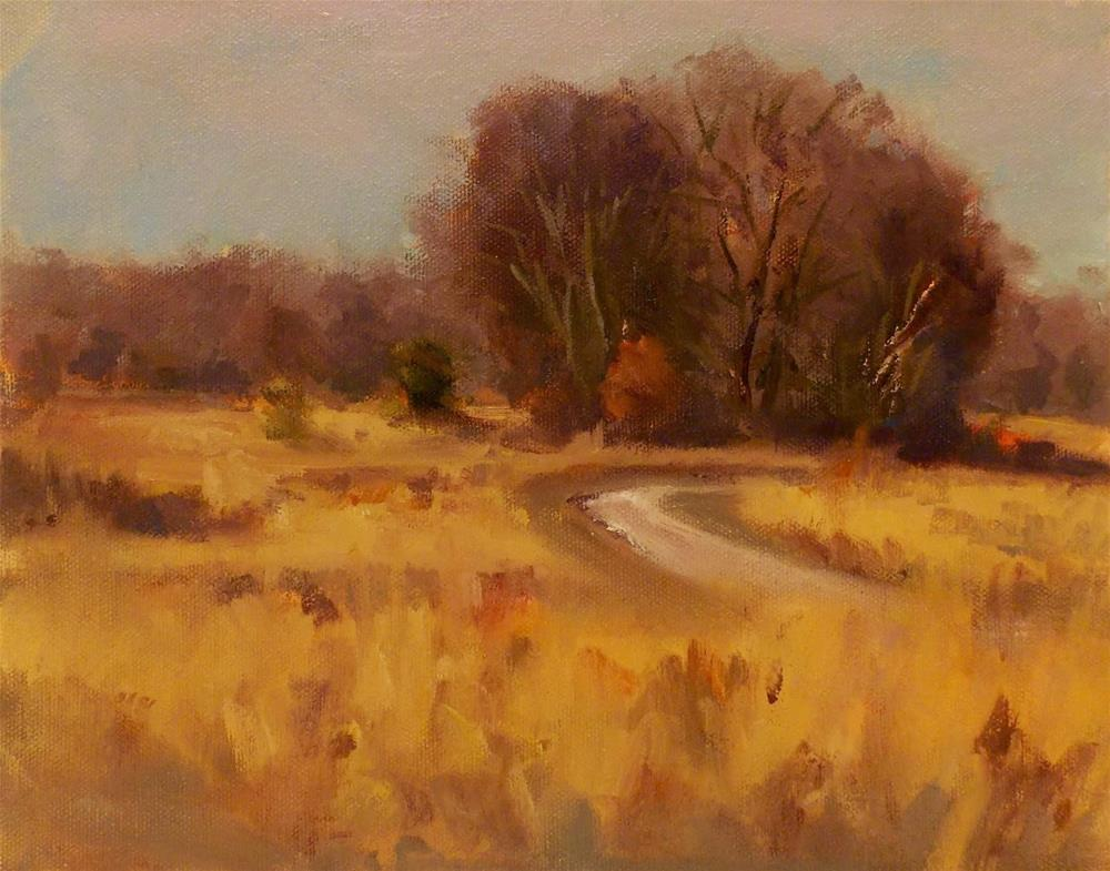 """GOLDEN FIELDS"" original fine art by Doug Carter"