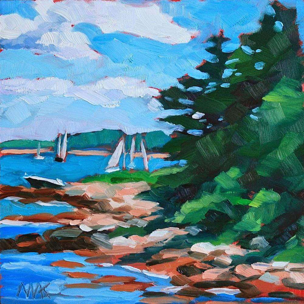 """Down East"" original fine art by Mary Anne Cary"