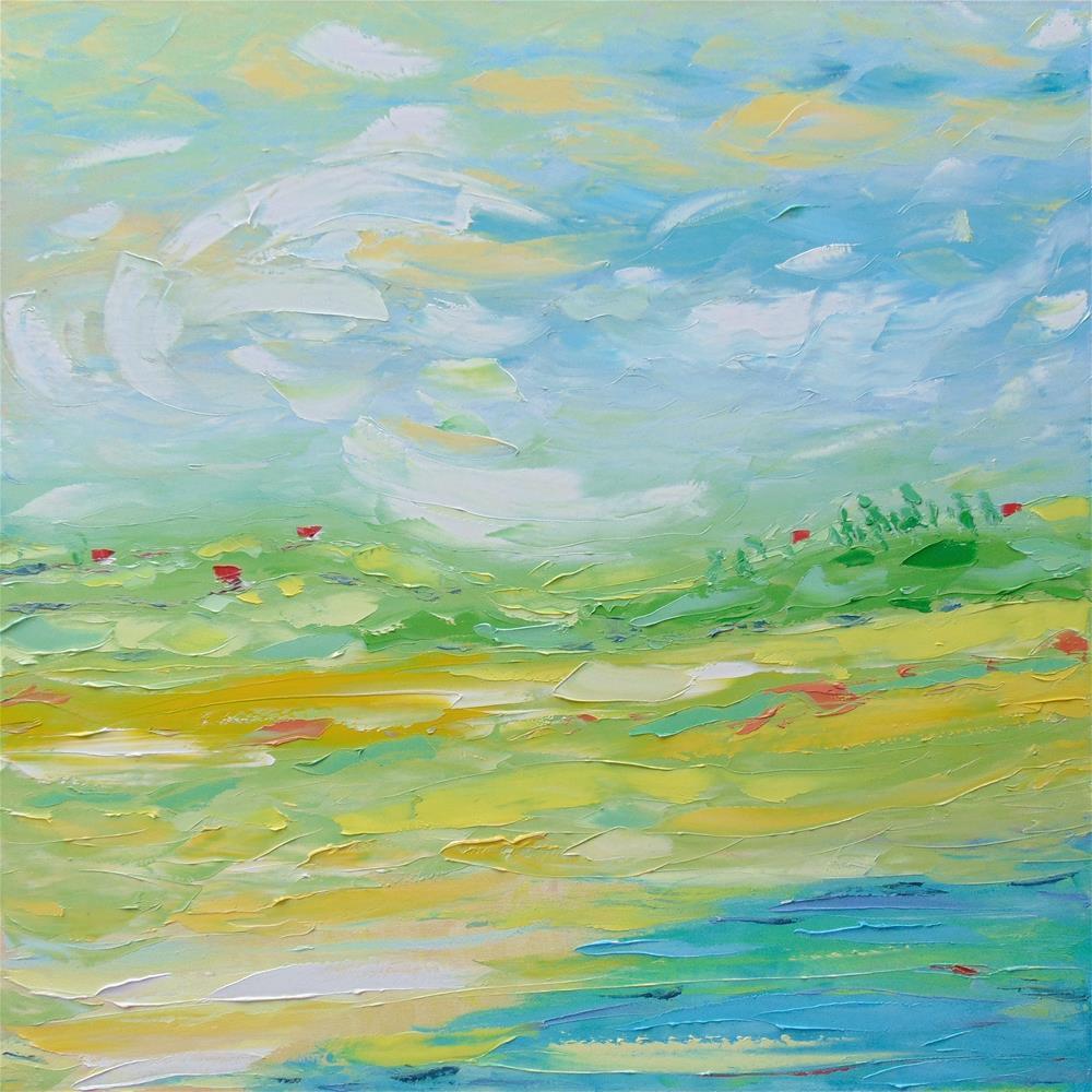 """Far Away"" original fine art by Elena Lunetskaya"