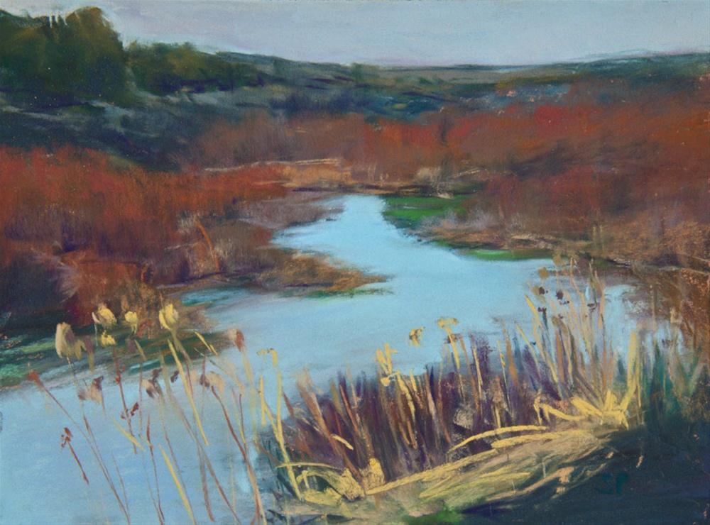 """Steens Wetlands"" original fine art by Sarah Peroutka"