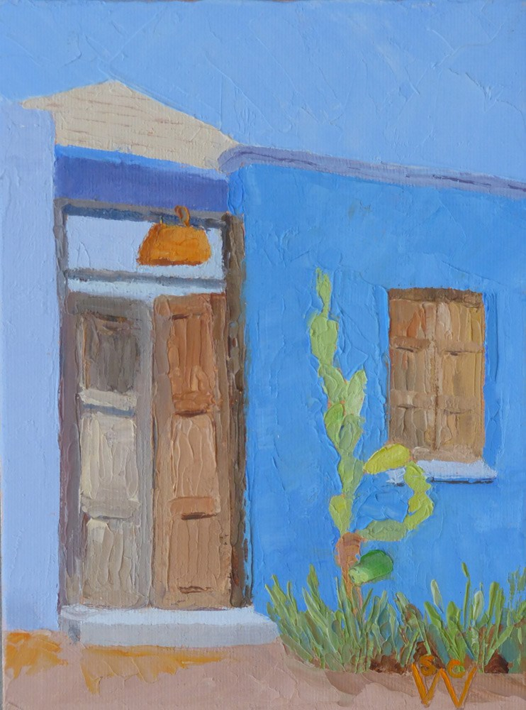 """Meyer Ave. #2"" original fine art by Susan Woodward"