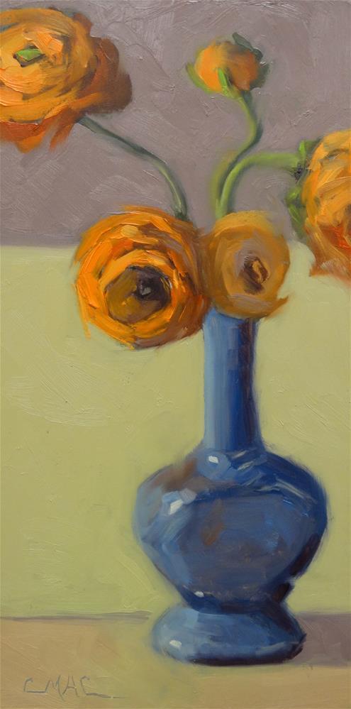 """""""Compliments"""" original fine art by Carolyn McDonald"""