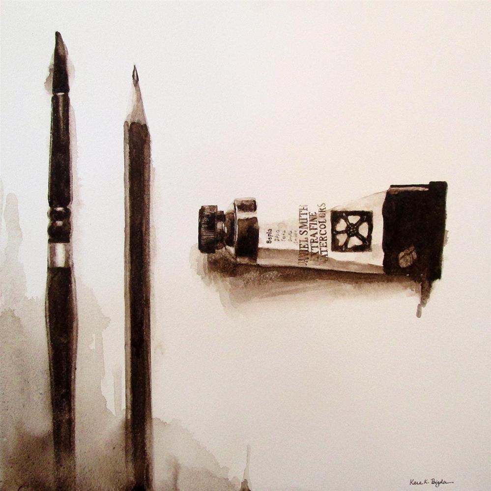 """Value #6"" original fine art by Kara K. Bigda"