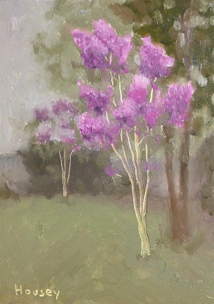 """Quiet Morning"" original fine art by Bruce Housey"