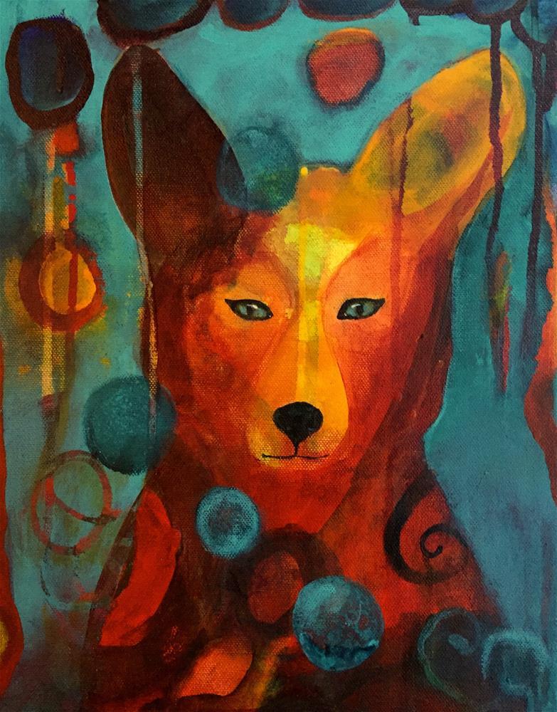 """""""Close to You"""" original fine art by Silke Powers"""