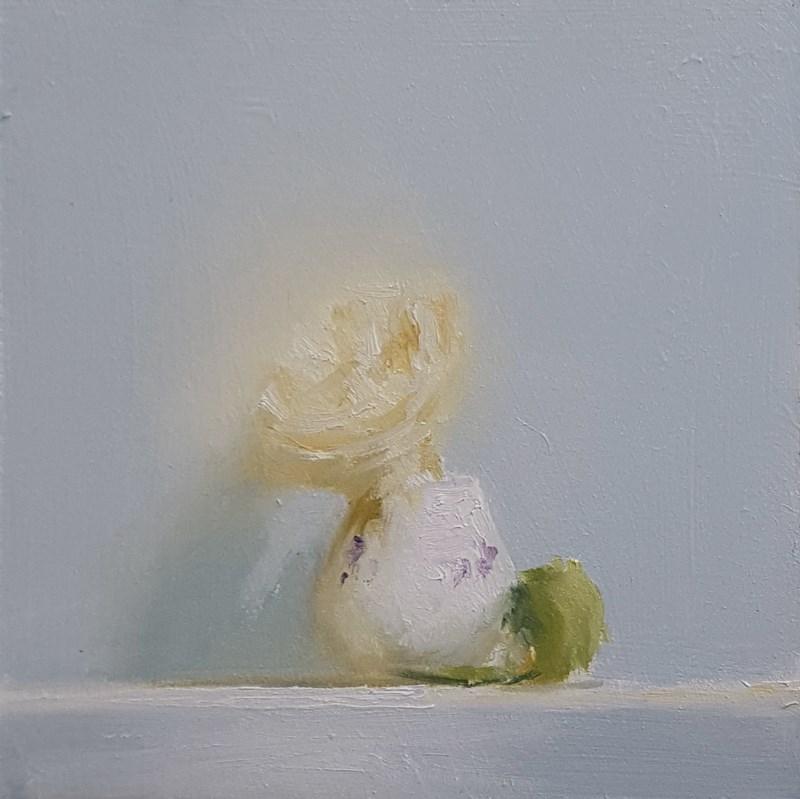 """""""Rose Cup"""" original fine art by Neil Carroll"""