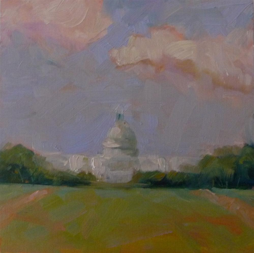 """Landmark, #2"" original fine art by Carol Josefiak"