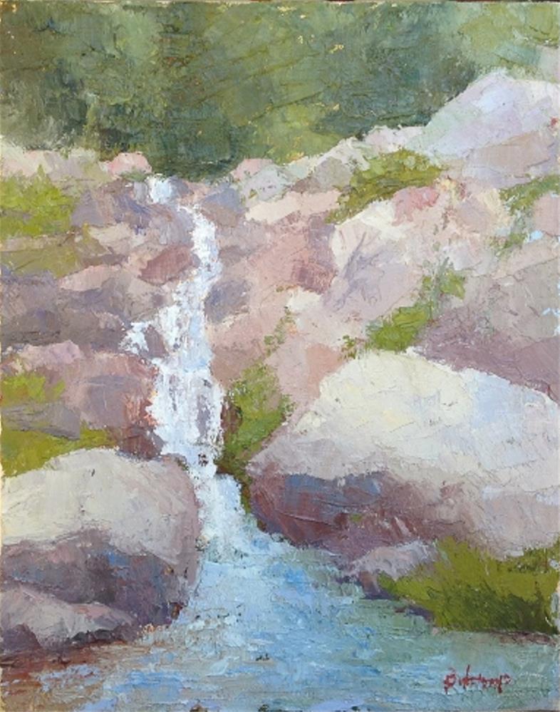 """Spring Falls"" original fine art by Mark Bidstrup"