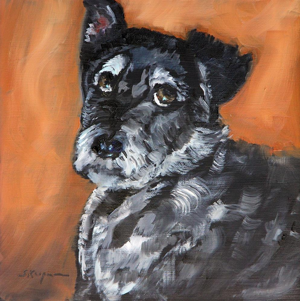 """Luigi"" original fine art by Shelley Koopmann"