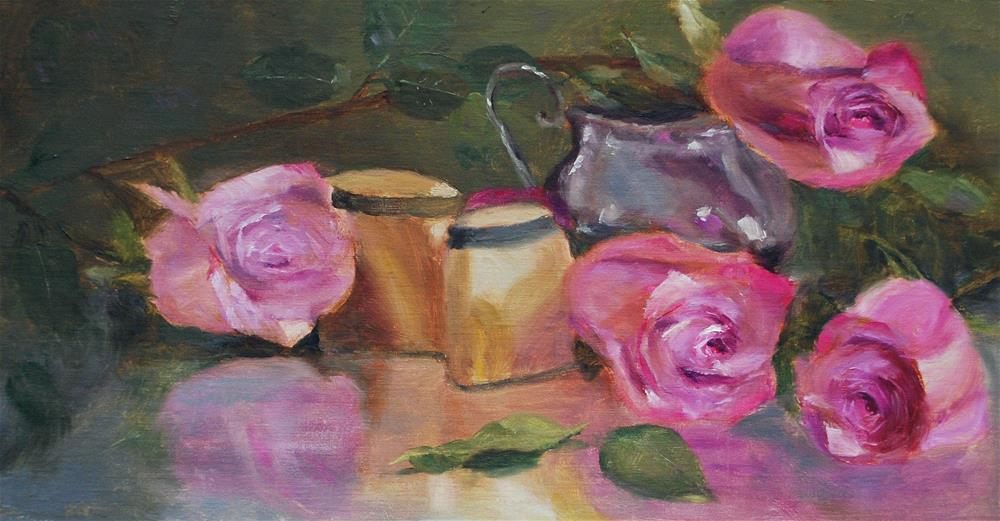 """Scattered"" original fine art by Ellen Hurley"