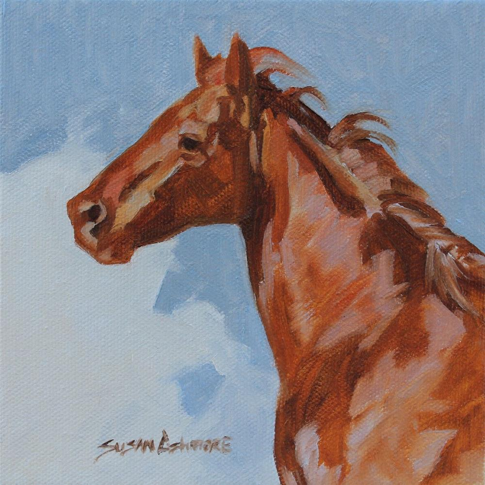 """''Soaring''"" original fine art by Susan Ashmore"