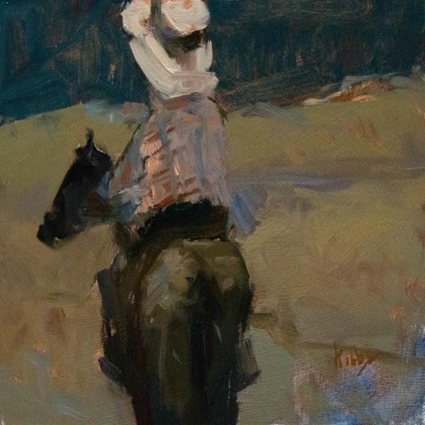 """El Monzano Arroyo"" original fine art by Randall Cogburn"