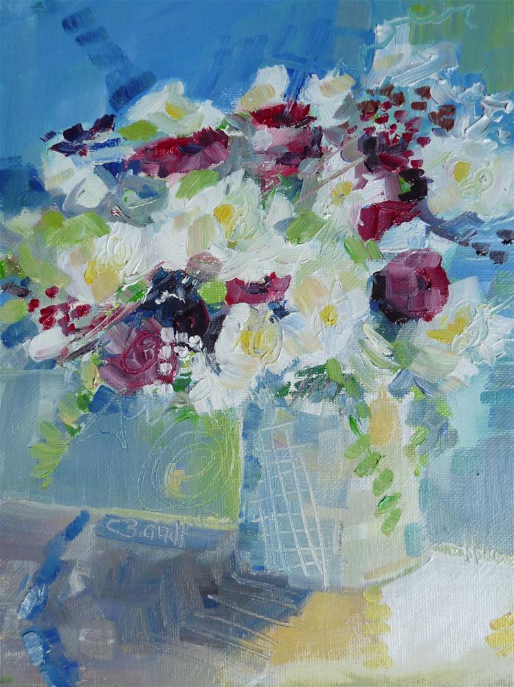 """Bouquet No 4"" original fine art by Claudia Brandt"