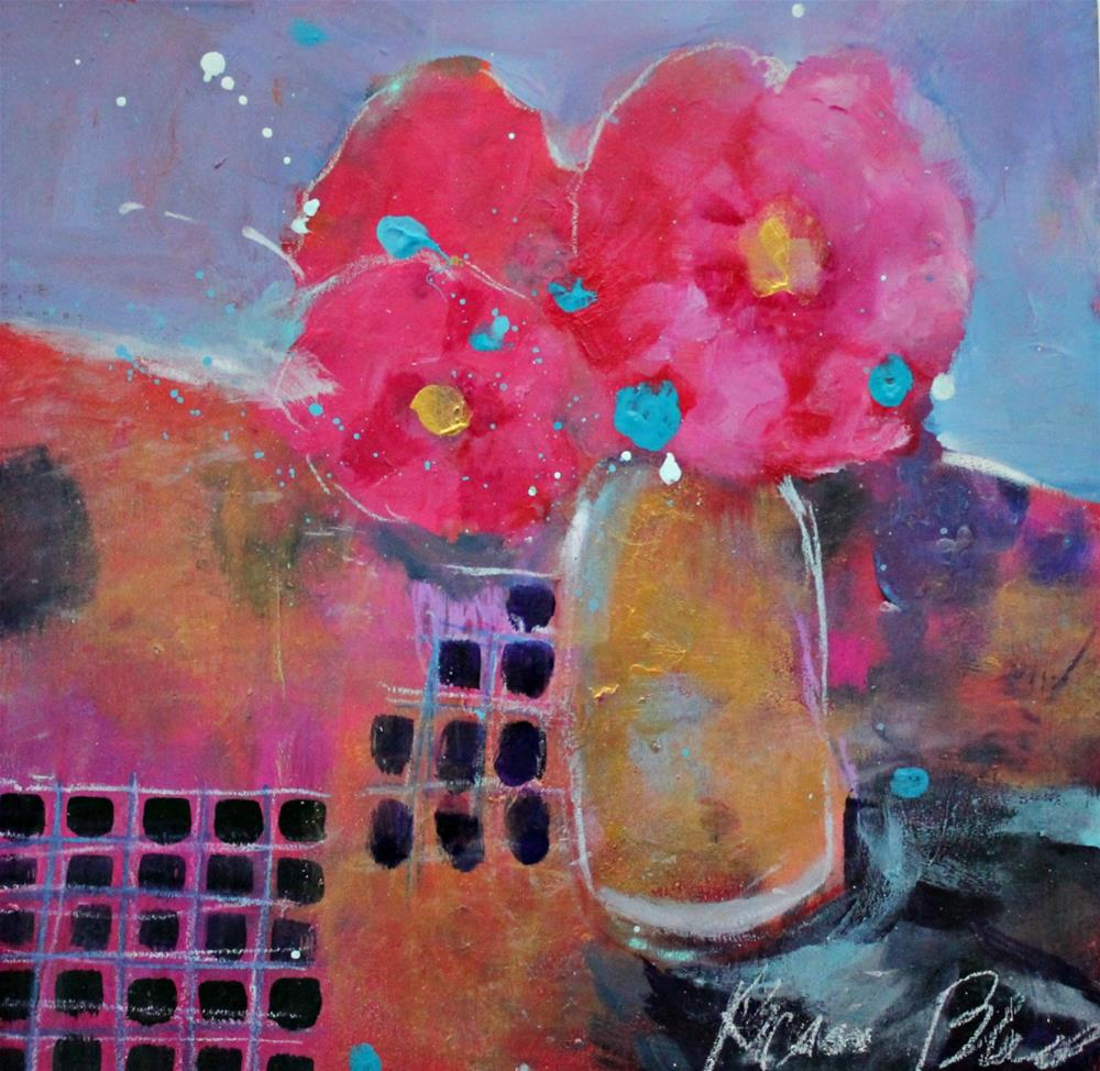 """Hibiscus "" original fine art by Kerri Blackman"