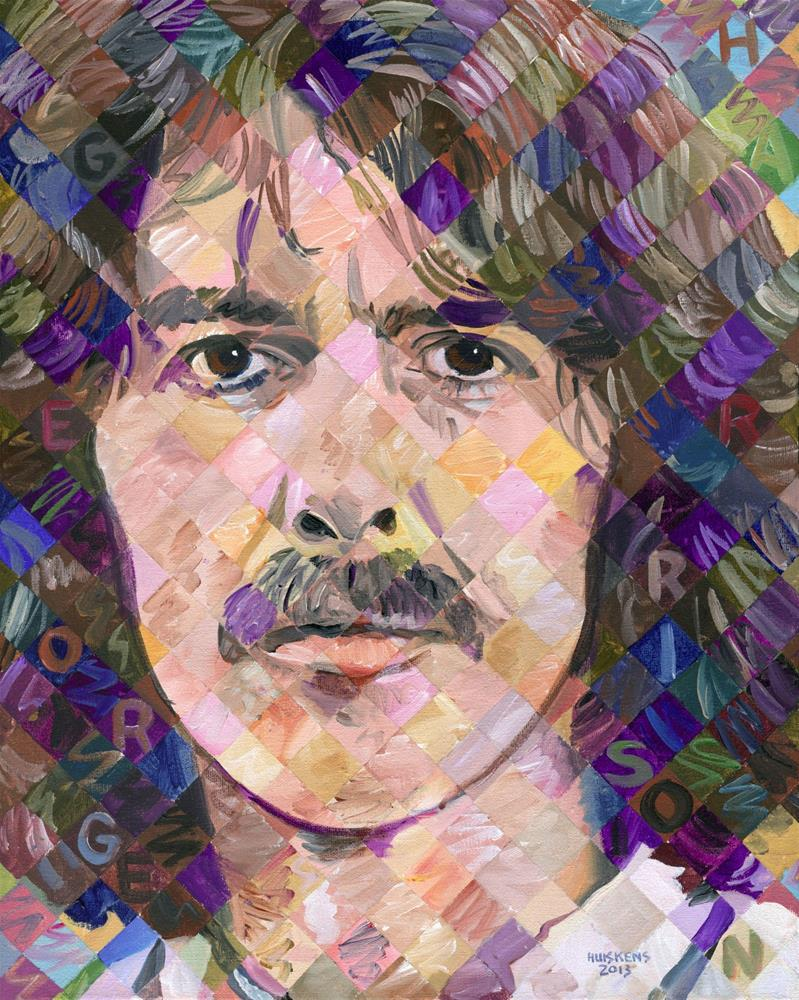"""George Harrison"" original fine art by Randal Huiskens"