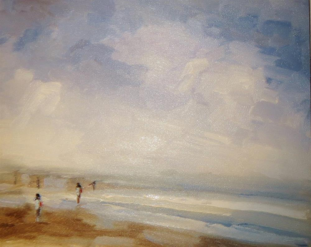 """Seascape"" original fine art by Astrid Buchhammer"