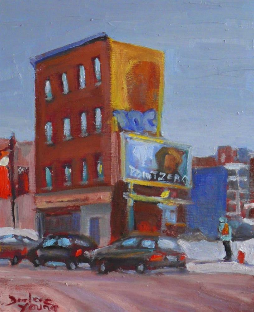 """800 Point Zero, St Catherine Est"" original fine art by Darlene Young"