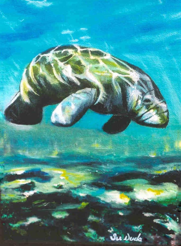 """Ancient Mariner"" original fine art by Susan Duda"