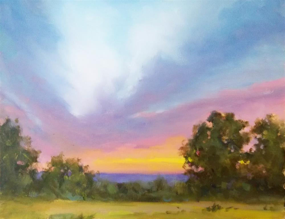""" SKY BEAUTY "" original fine art by Doug Carter"