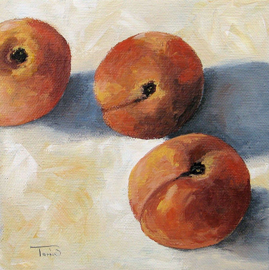 """More Georgia Peaches"" original fine art by Torrie Smiley"