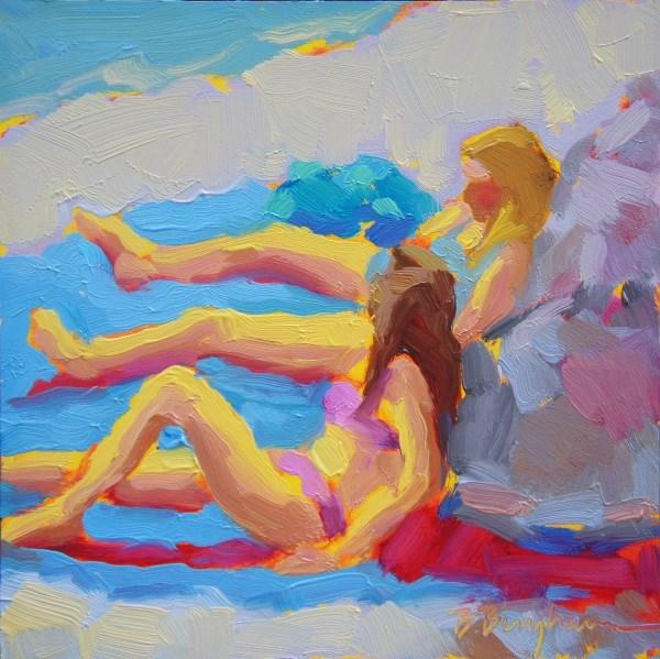 """Pink Bikini"" original fine art by Bruce Bingham"