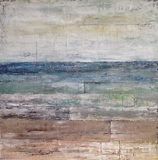 """Sea Tales"" original fine art by Maureen Bowie"