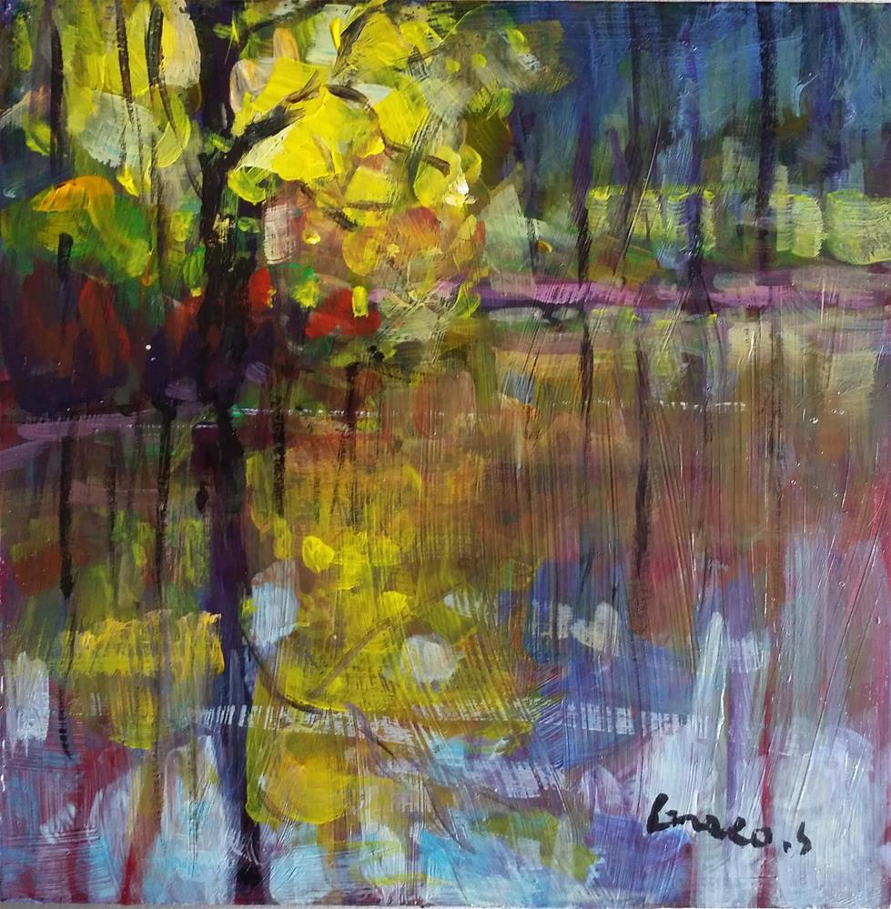 """Landscape #6"" original fine art by salvatore greco"