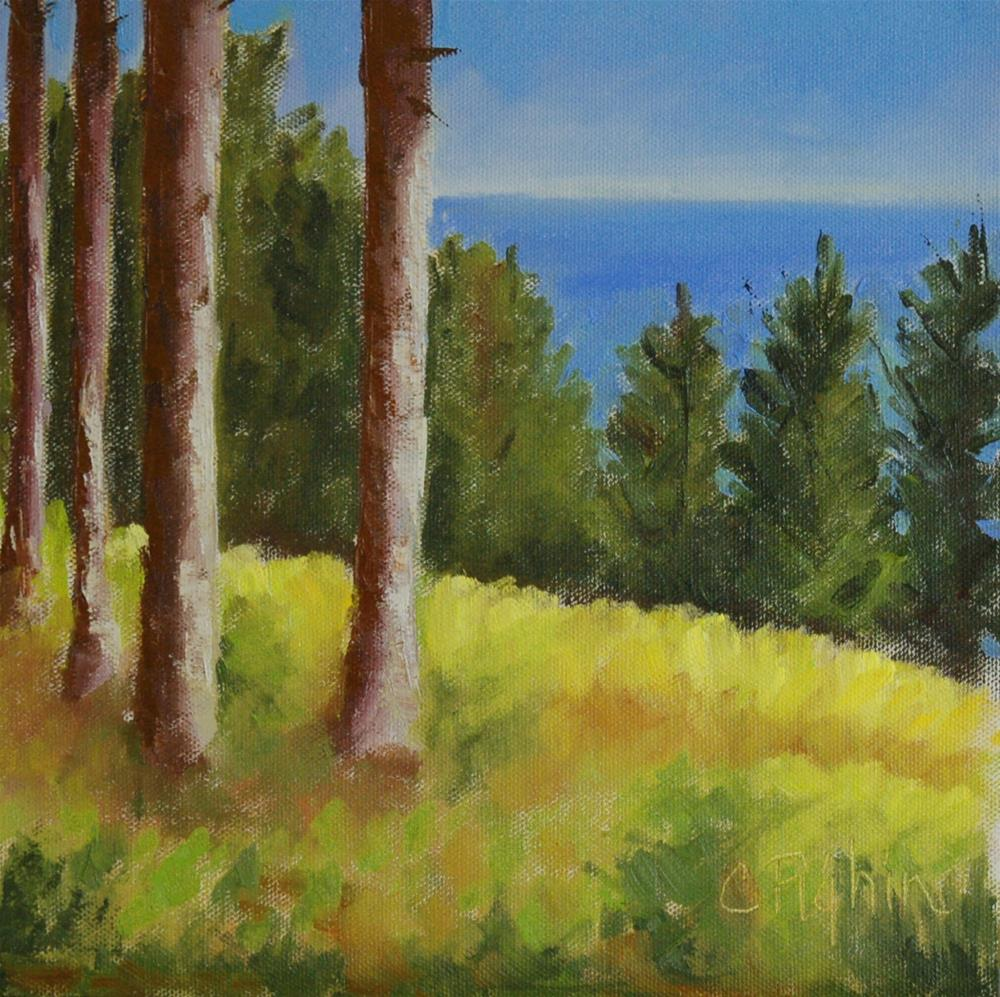 """Bay View"" original fine art by Carol Pighin"