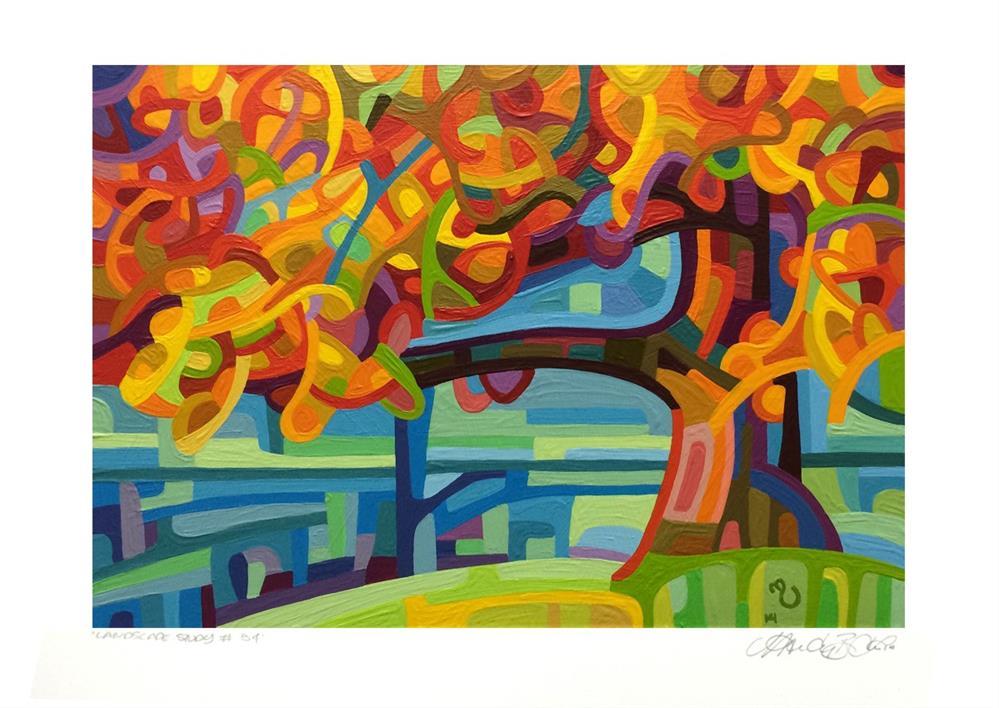 """Landscape Study #54"" original fine art by Mandy Budan"