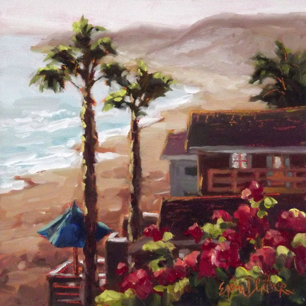 """Captivation Crystal Cove"" original fine art by Erin Dertner"