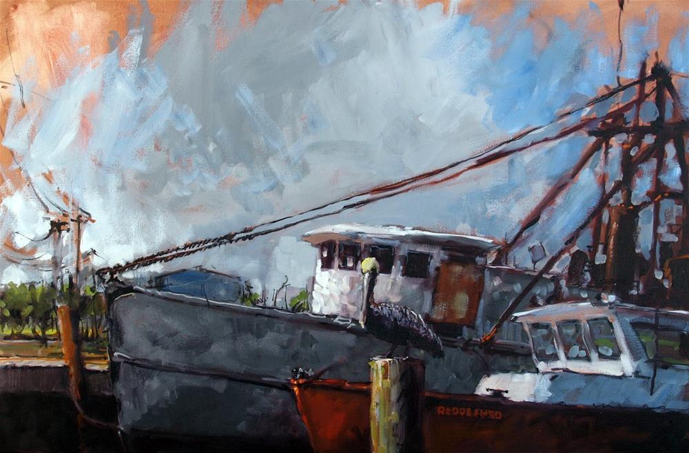 """""""Reddeemed"""" original fine art by Rick Nilson"""