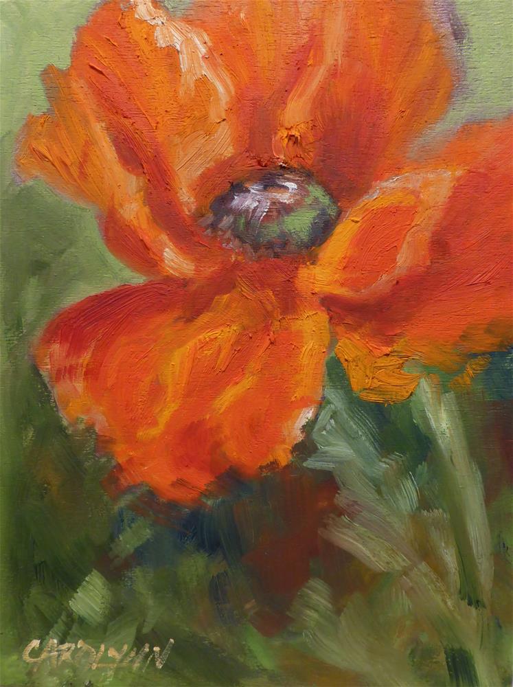 """""""Remembering"""" original fine art by Carolynn Doan"""
