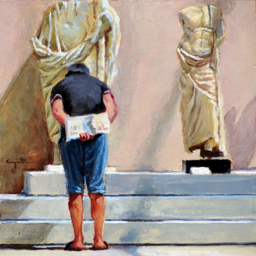 """Estatuas"" original fine art by Eduardo Carpintero"