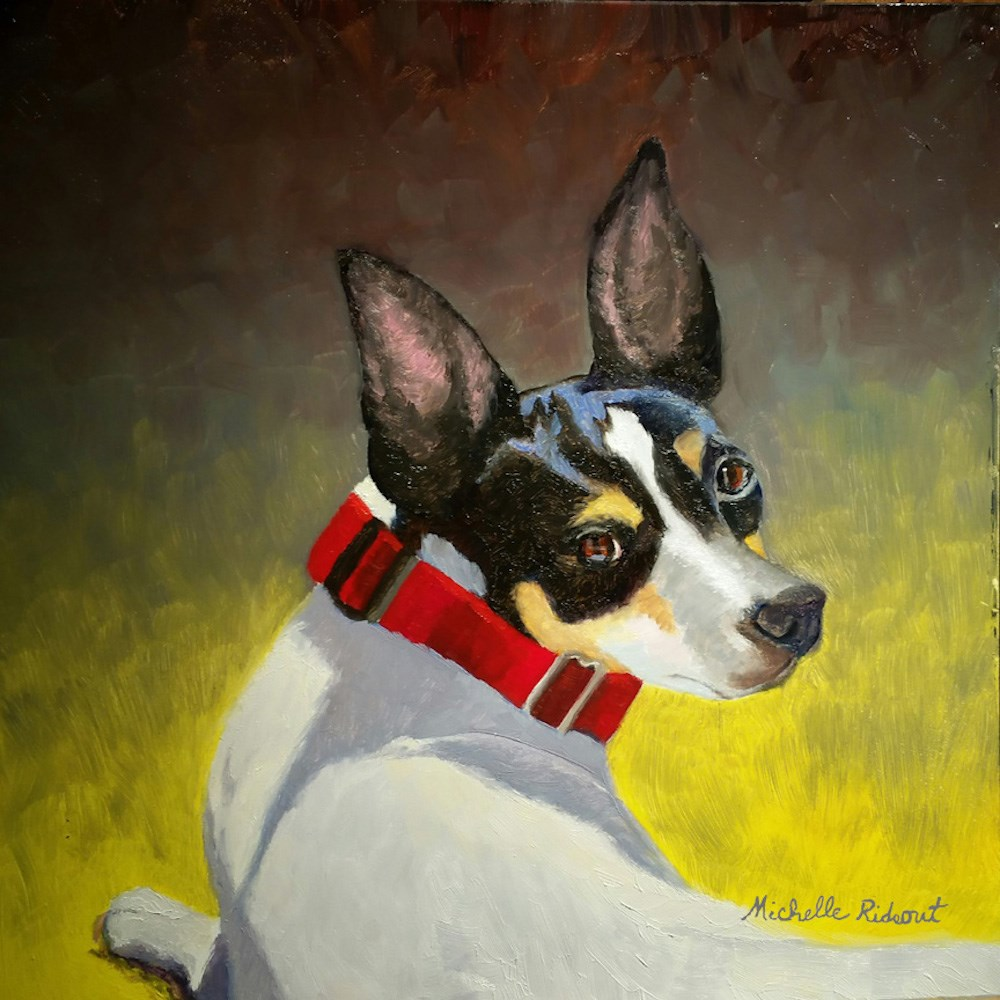"""Sadie Remembered"" original fine art by Michelle Rideout"