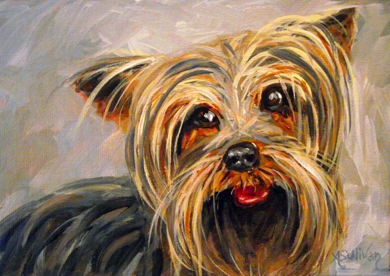 """Thief of My Heart"" original fine art by Angela Sullivan"