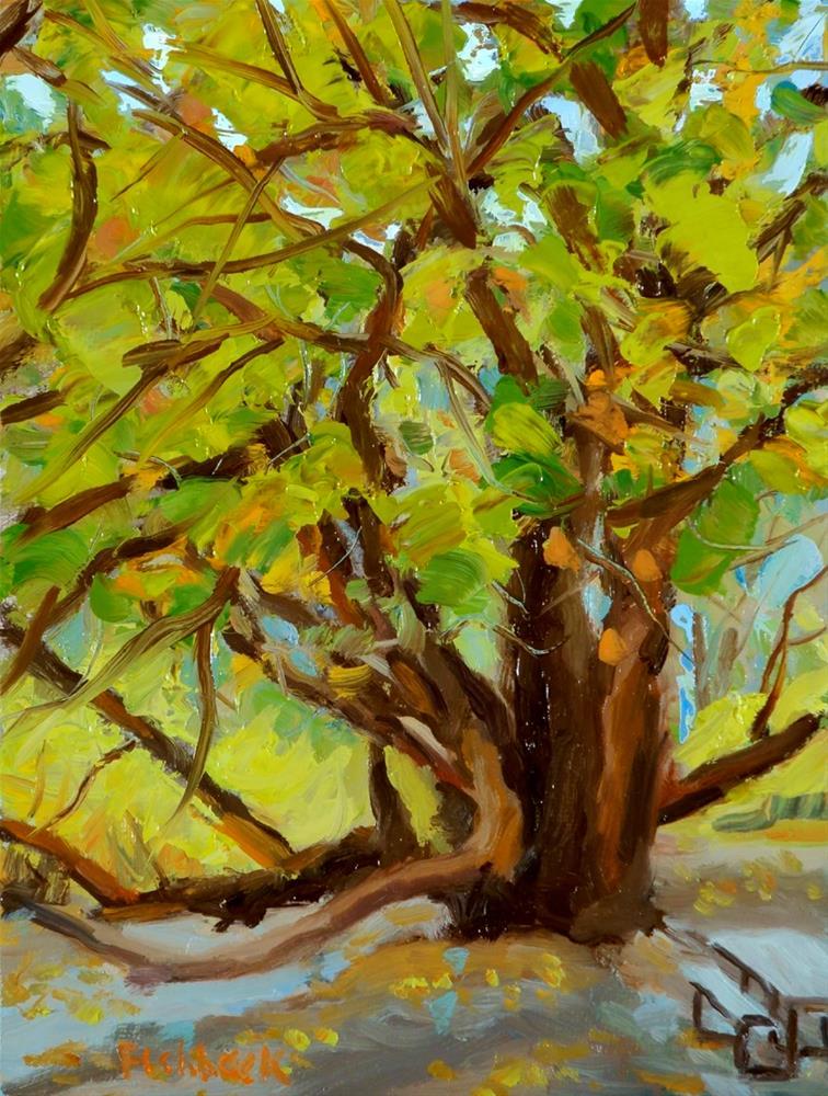 """Grand Tree"" original fine art by Daniel Fishback"