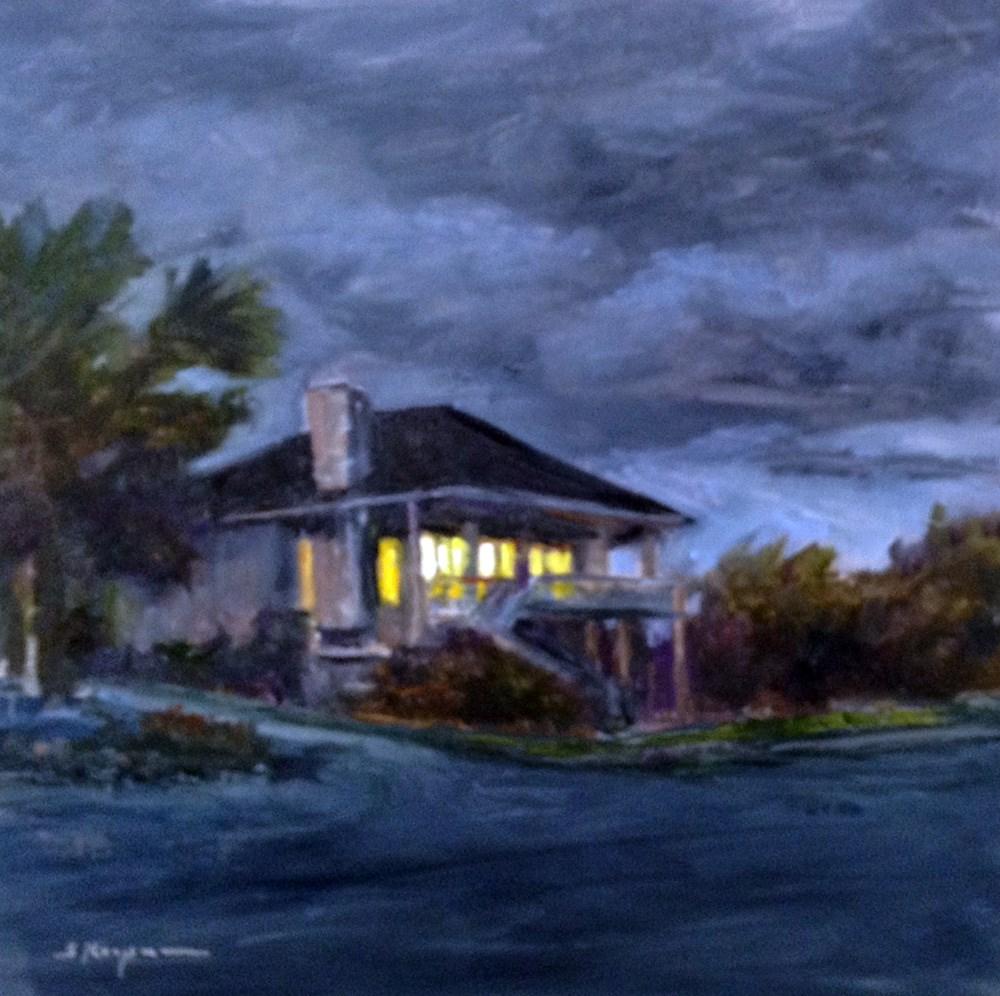 """""""Emerald Isle Oasis"""" original fine art by Shelley Koopmann"""