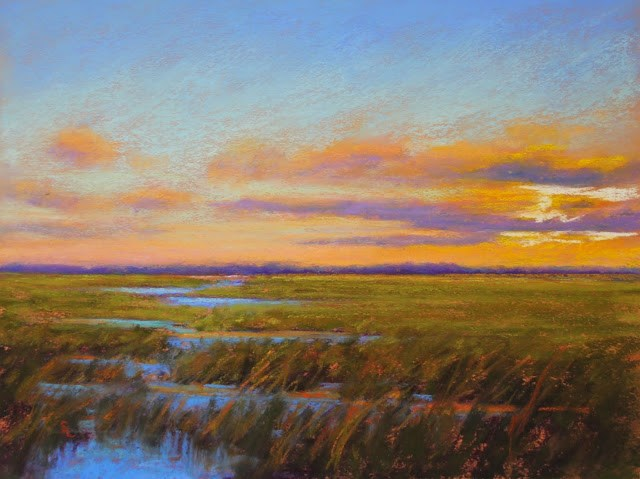 """A Sky Serene and Fair"" original fine art by Sharon Lewis"
