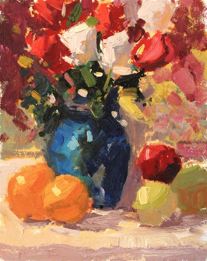 """Rose Buds "" original fine art by michael clark"