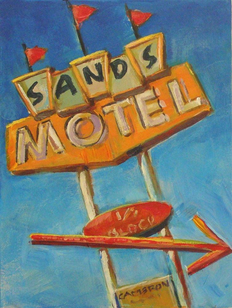 """THE SANDS"" original fine art by Brian Cameron"