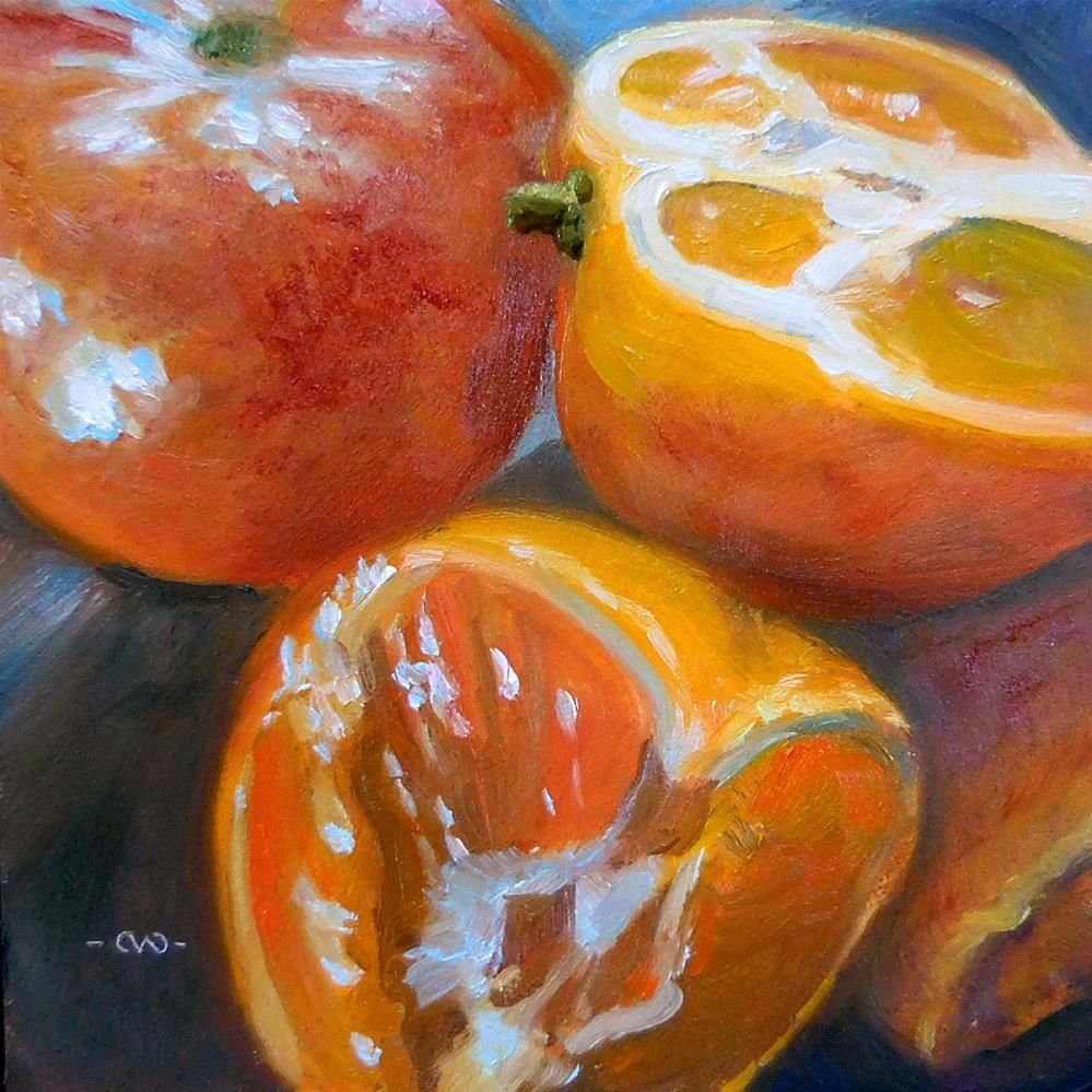"""Darling Clementines"" original fine art by Cietha Wilson"