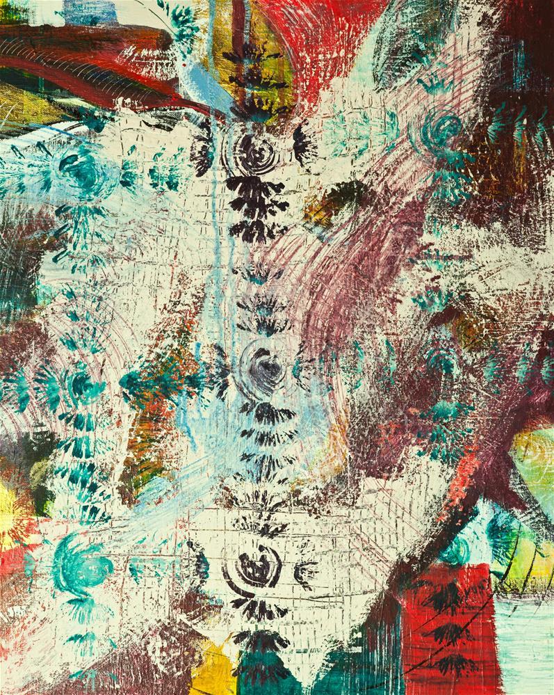 """""""Shamaniac"""" original fine art by Zuzana Petrakova"""