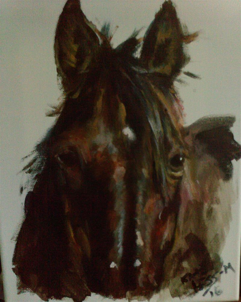 """""""The Eyes have it"""" original fine art by Kate Less-Madsen"""