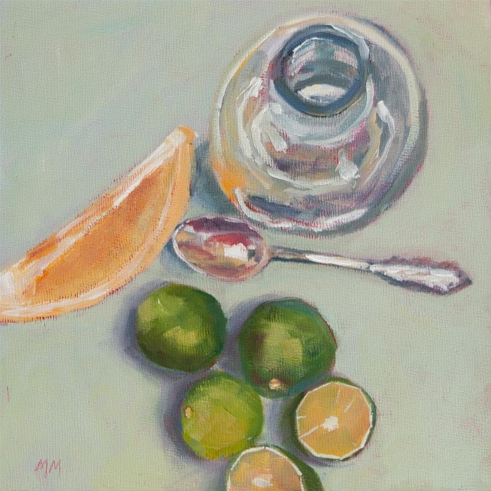 """Spoon Divider  38"" original fine art by Maria McNitt"